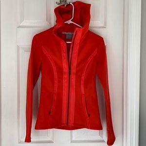 Athleta hooded fleece jacket